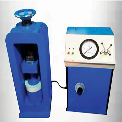 Compression Testing Machine (Channel Type Load Frame) Electrical Cum Hand Operated