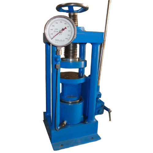 Compression Testing Machine (Pillar Type Load Frame) Hand Operated