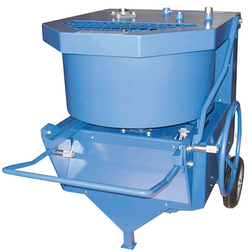 Laboratory Concrete Pan Mixer Machine