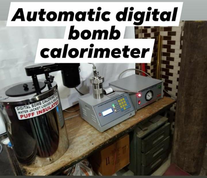 automatic digital bomb colirimeter