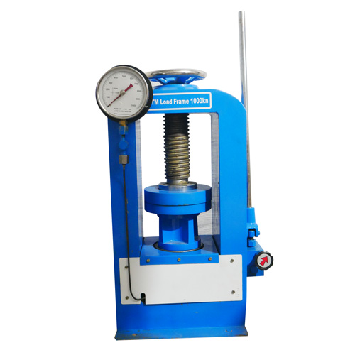Compression Testing Machine Channel Type Load Frame Electrical Cum Hand Operated India