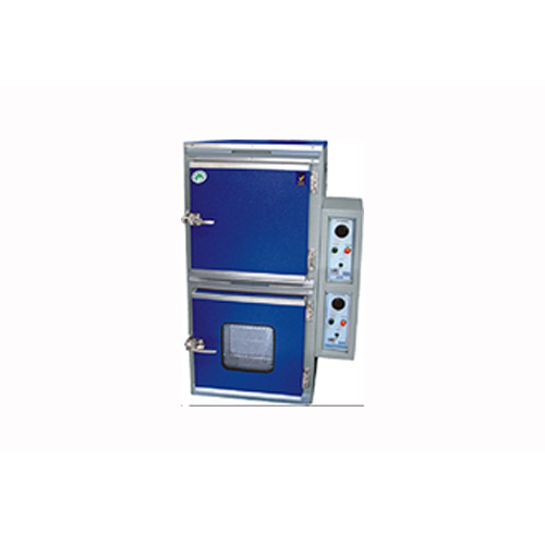 Hot Air Oven and Incubator Combined Twin Model